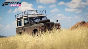 Land Rover Series III in Forza Horizon 3