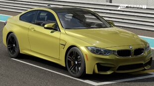 The 2014 BMW M4 Coupe in Forza Motorsport 7