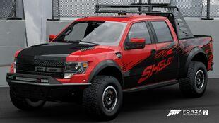 2013 Ford F-150 SVT Raptor Shelby in Forza Motorsport 7