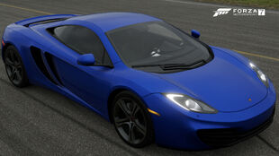 The 2011 McLaren 12C in Forza Motorsport 7