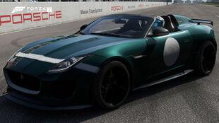 The 2016 Jaguar F-Type Project 7 in Forza Motorsport 7