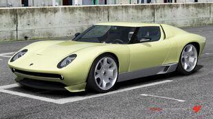 Lamborghini Miura Concept in Forza Motorsport 4