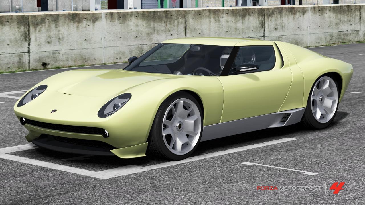 Lamborghini Miura Concept Forza Motorsport Wiki Fandom Powered