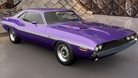 FH3 Dodge Challenger 70 Front