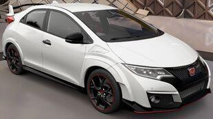 The 2016 Honda Civic Type R in Forza Horizon 3