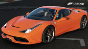 FM7 Ferrari 458 S Front