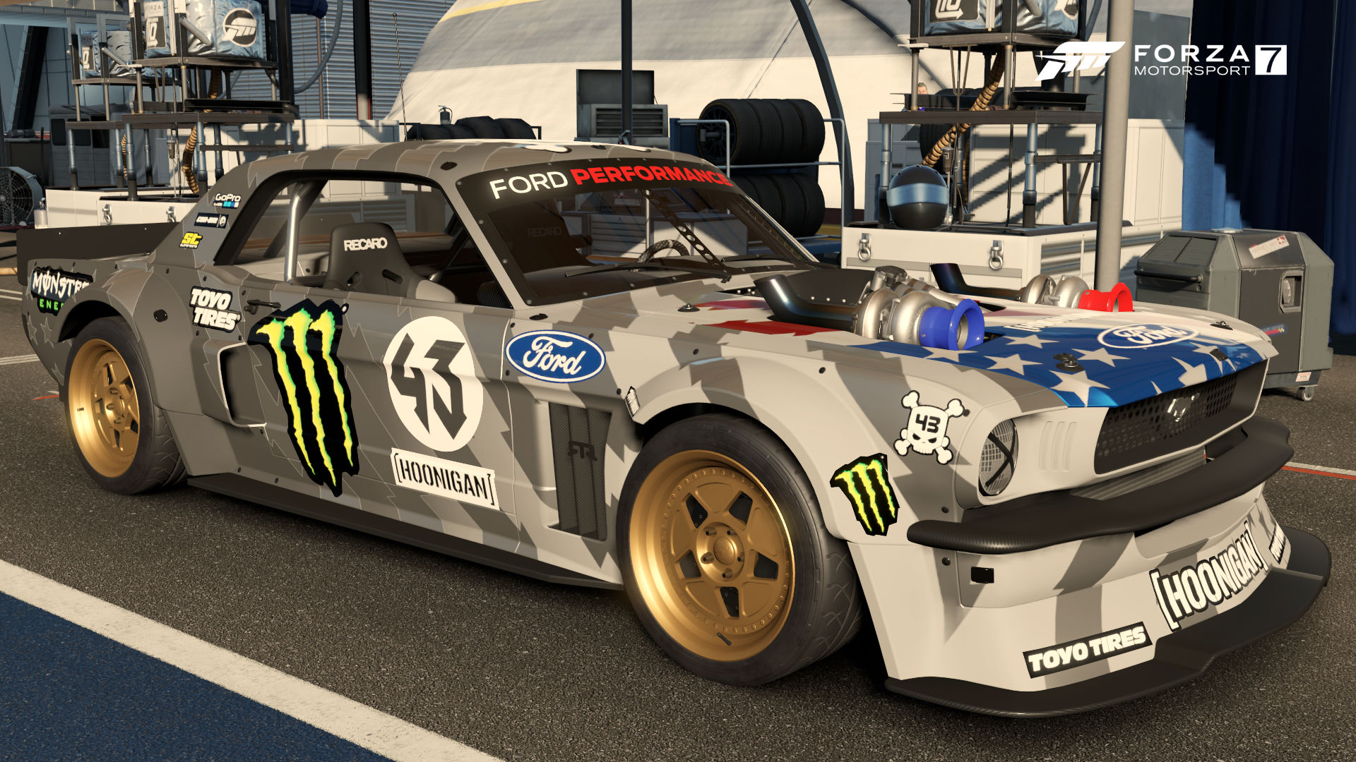 hoonigan ford hoonicorn mustang forza motorsport wiki. Black Bedroom Furniture Sets. Home Design Ideas