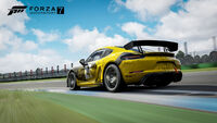 FM7 Porsche 718 Cayman GT4 Clubsport Rear Promo