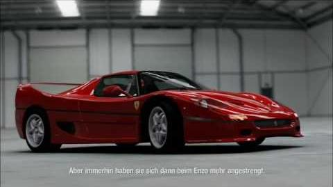 Forza Motorsport 4 Ferrari F50 '95 -Autovista Top Gear Commentary-