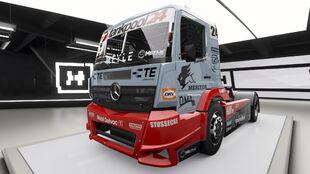 Mercedes-Benz #24 Tankpool24 Racing Truck in Forza Horizon 4