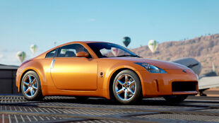 The Nissan Fairlady Z in Forza Horizon 3