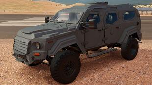 The 2014 Terradyne Gurkha LAPV in Forza Horizon 3