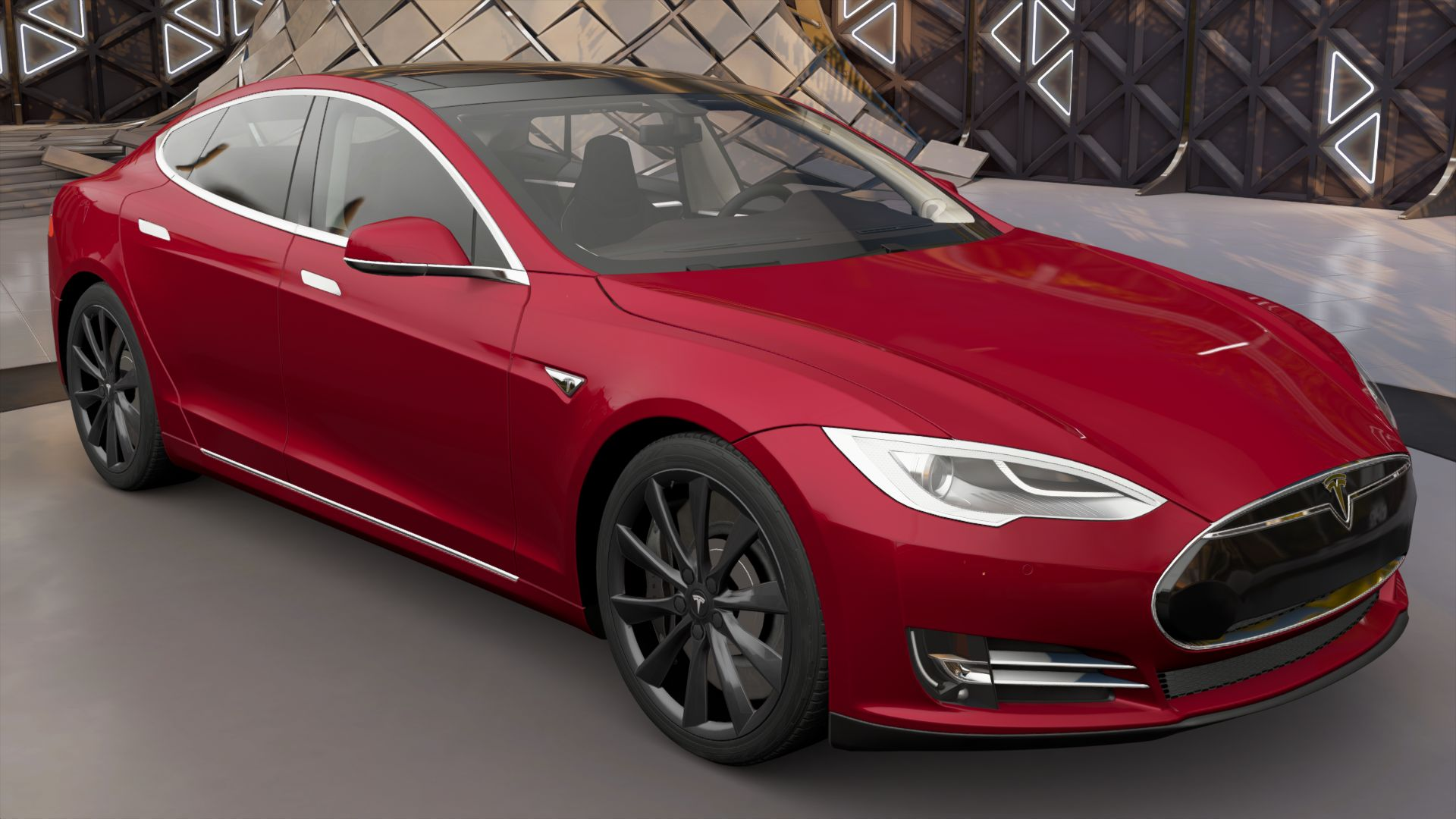 Tesla Model S P90D with Ludicrous Mode | Forza Motorsport