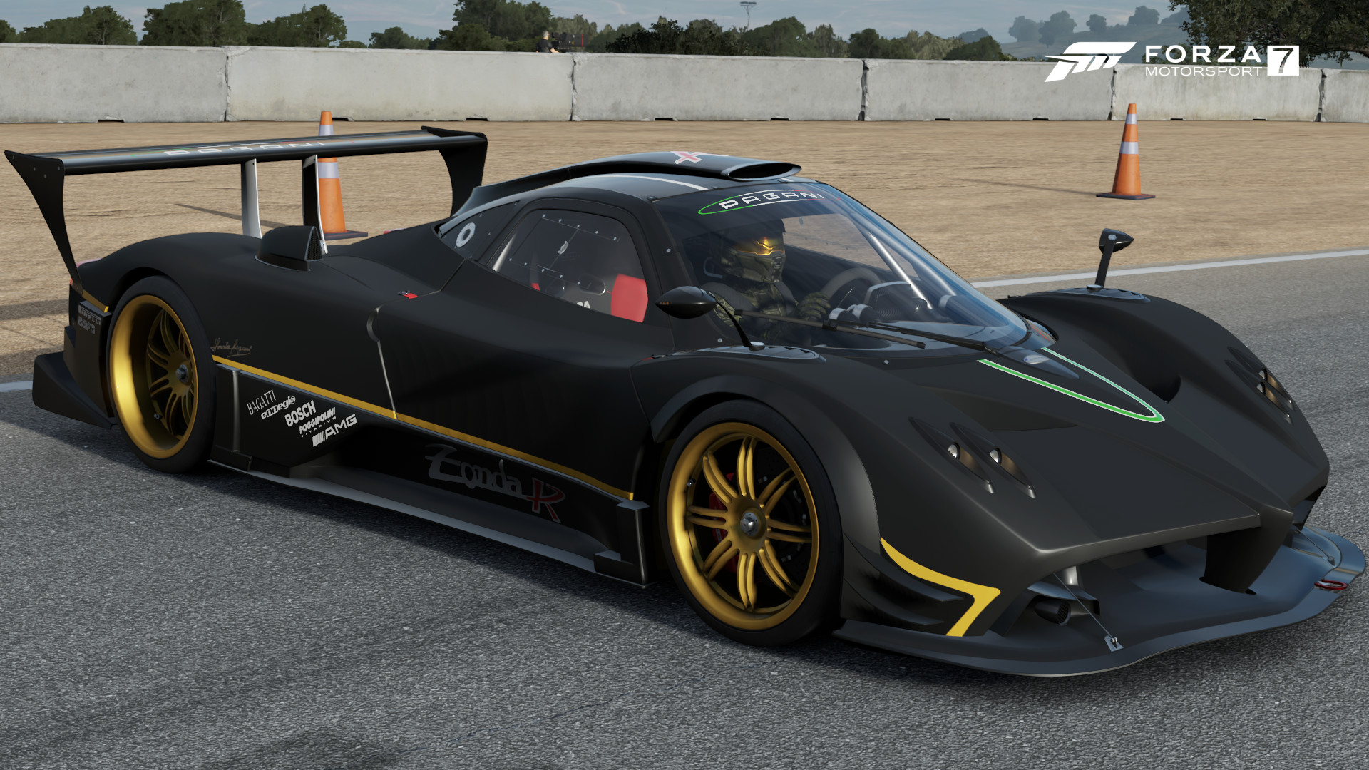 pagani zonda r forza motorsport wiki fandom powered by wikia. Black Bedroom Furniture Sets. Home Design Ideas