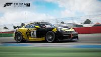 FM7 Porsche 718 Cayman GT4 Clubsport Front Promo