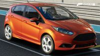 FM7 Ford Fiesta ST Front