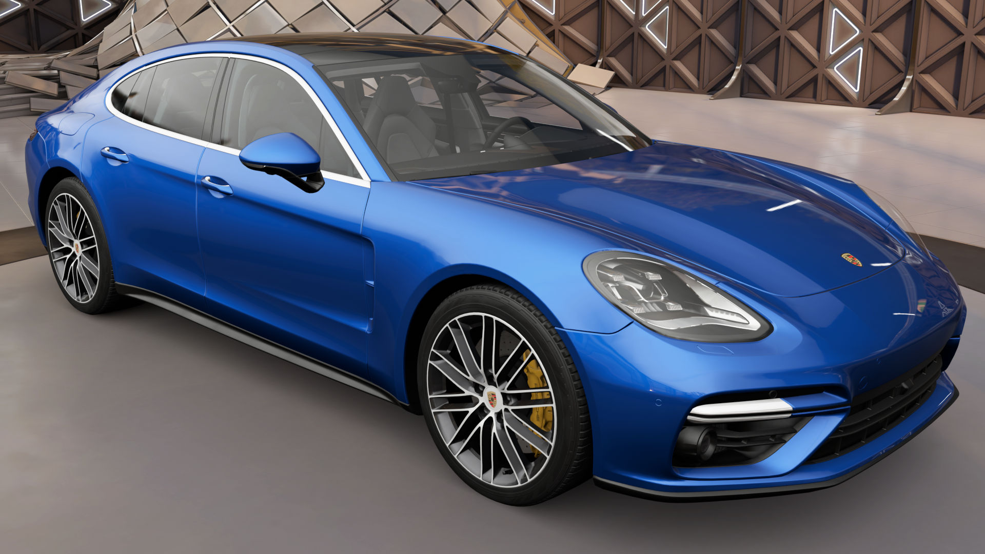 The 2017 Porsche Panamera Turbo In Forza Horizon 3