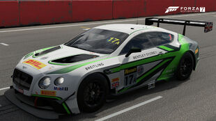 Bentley #17A Liqui Moly M-Sport Continental GT3 in Forza Motorsport 7