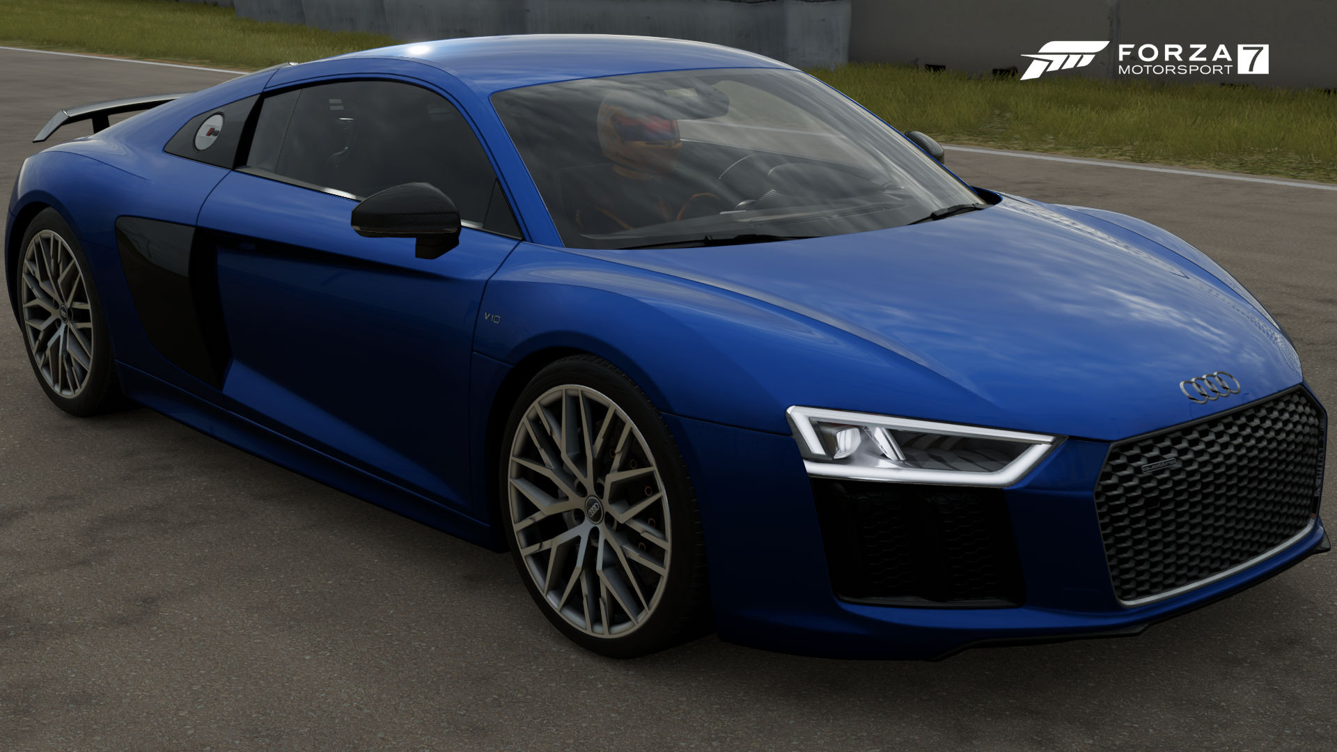 The 2016 Audi R8 V10 Plus In Forza Motorsport 7