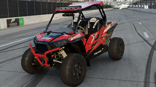 The 2015 Polaris RZR XP 1000 EPS in Forza Motorsport 7
