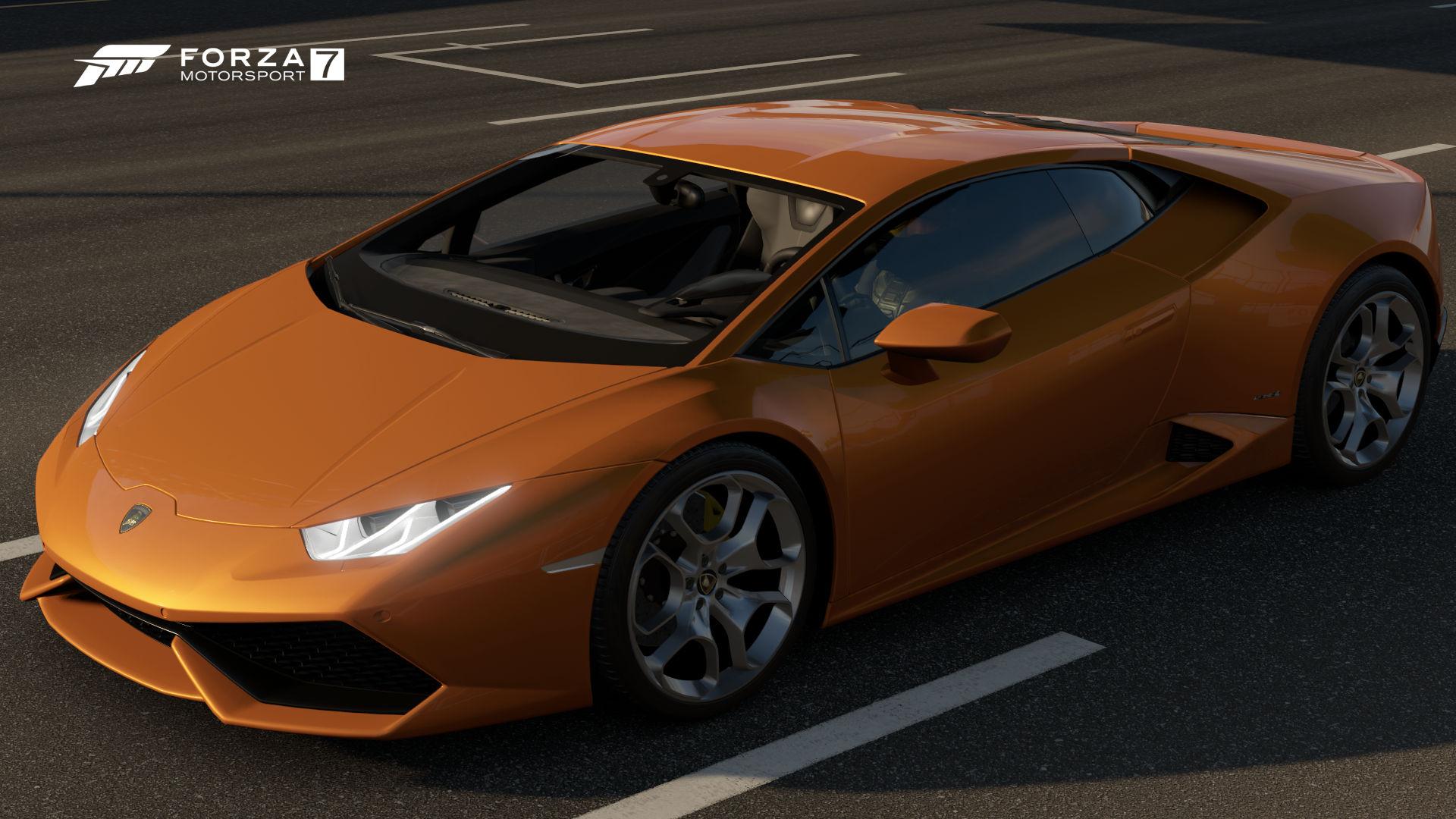 The 2014 Lamborghini Huracán LP 610 4 In Forza Motorsport 7