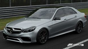 The 2013 Mercedes-Benz E 63 AMG in Forza Motorsport 7