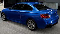 FM6A BMW M235i Rear