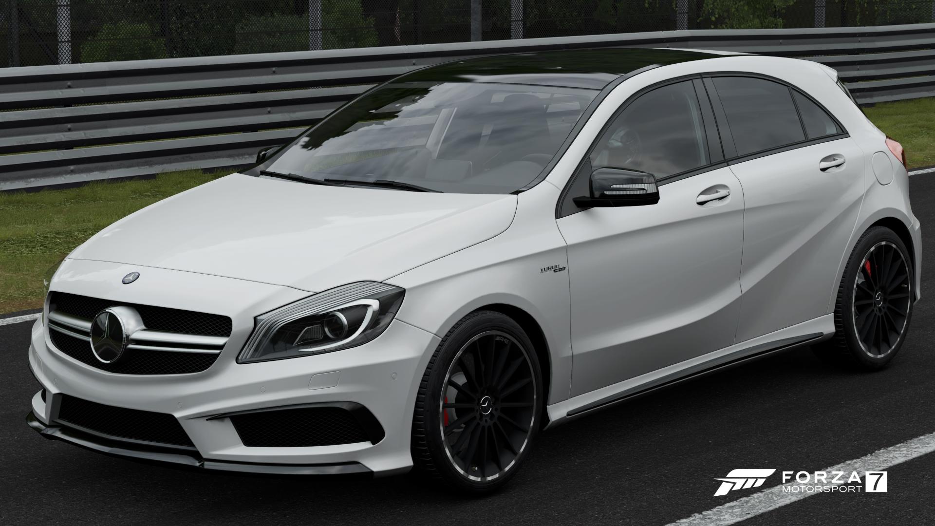Mercedes benz a 45 amg forza motorsport wiki fandom for Mercedes benz wiki
