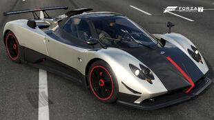 The Pagani Zonda Cinque Roadster in Forza Motorsport 7