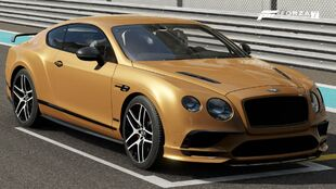 The 2017 Bentley Continental Supersports in Forza Motorsport 7