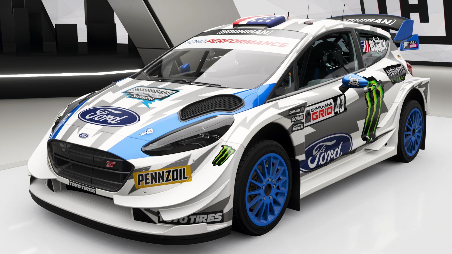 Hoonigan Gymkhana 10 Ford Fiesta ST   Forza Motorsport Wiki
