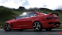 FM4 Holden HSV GTS Rear