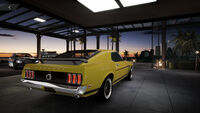 FS Ford Mustang 69 Rear