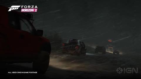 Forza Horizon 2 Storm Island Trailer