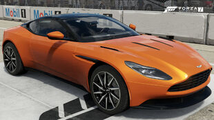 The 2017 Aston Martin DB11 in Forza Motorsport 7