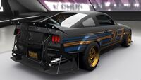 FH4 Hot Wheels Ford Mustang Rear