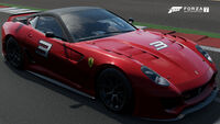 FM7 Ferrari 599XX Front