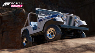 Jeep CJ5 Renegade in Forza Horizon 3