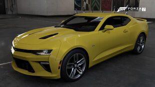 The 2016 Chevrolet Camaro SS in Forza Motorsport 7
