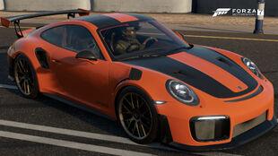 The 2018 Porsche 911 GT2 RS in Forza Motorsport 7