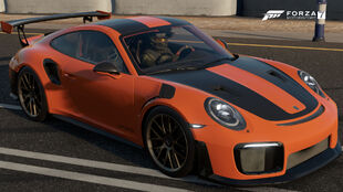 The 2018 Porsche 911 GT2 RS in Forza Motorsport 7