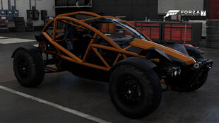 The 2016 Ariel Nomad in Forza Motorsport 7