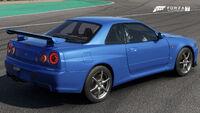 FM7 Nissan GT-R 02 Rear