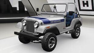 Jeep CJ5 Renegade in Forza Horizon 4
