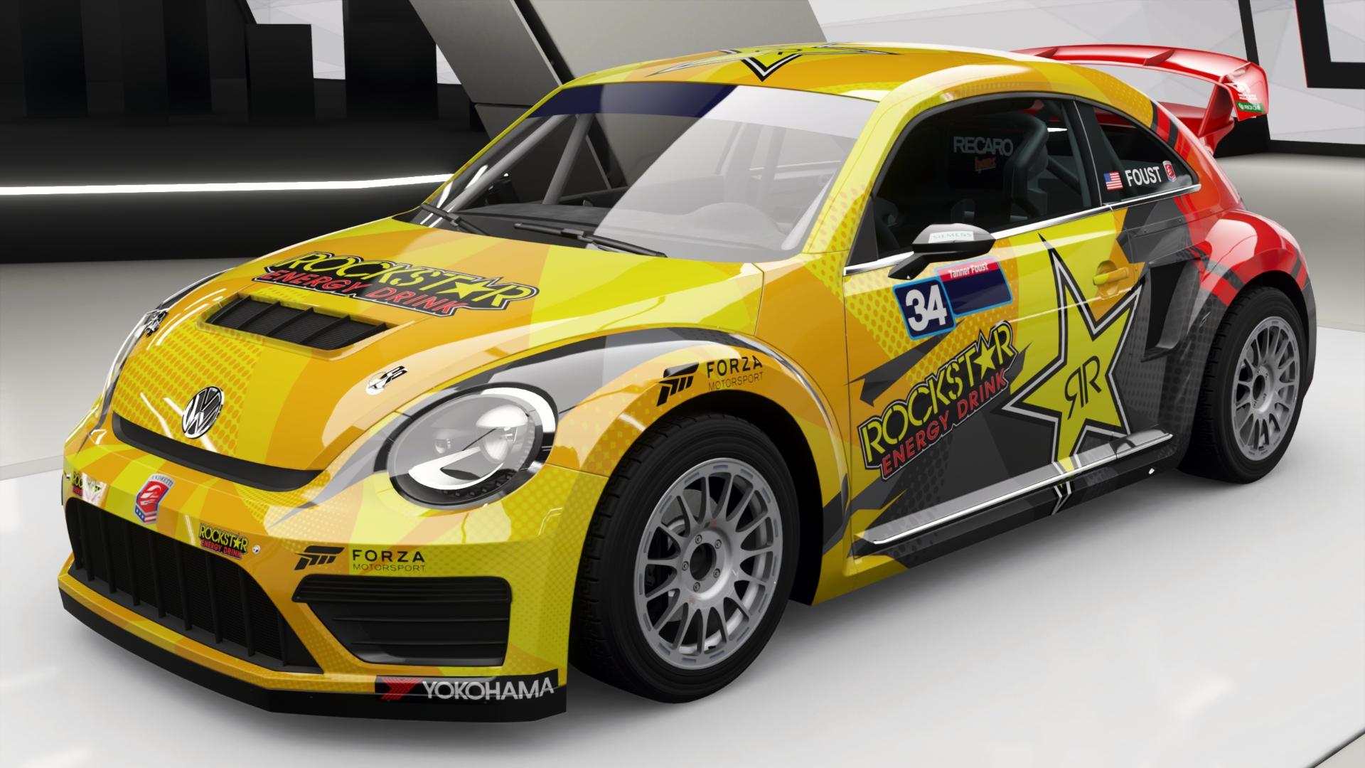 Volkswagen Global Rallycross Beetle In Forza Horizon 4