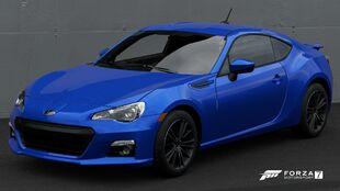 The 2013 Subaru BRZ in Forza Motorsport 7
