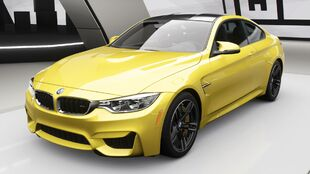 BMW M4 Coupé in Forza Horizon 4