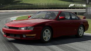 The 1998 Nissan Silvia K's Aero in Forza Motorsport 7