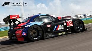 The 2014 BMW #56 BMW Team RLL Z4 GTE in Forza Motorsport 6