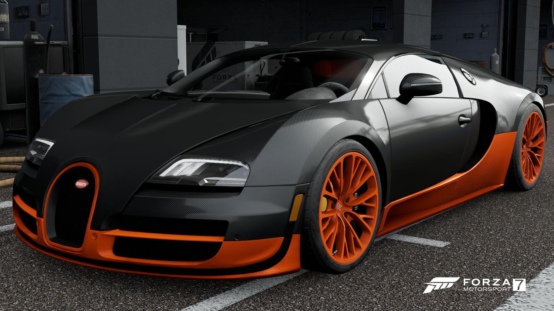 The 2011 Bugatti Veyron Super Sport In Forza Motorsport 7